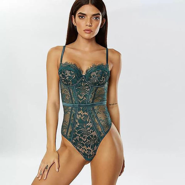 Rouge Lace Bodysuits