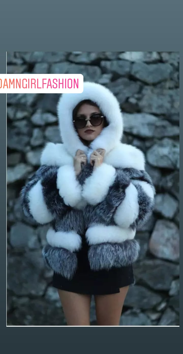 Snow Faux Fur Beautiful Jackets