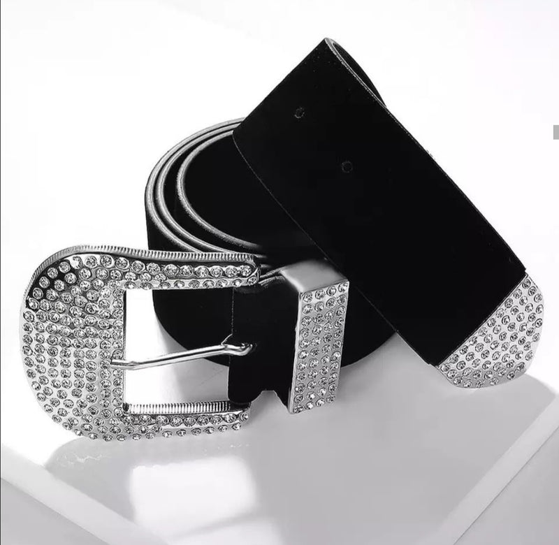 Luxury Rhinestone Belts