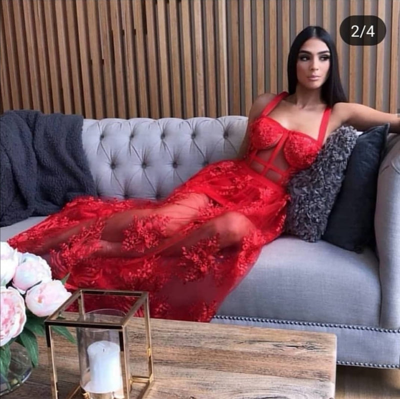 Red Ambihtion Gown