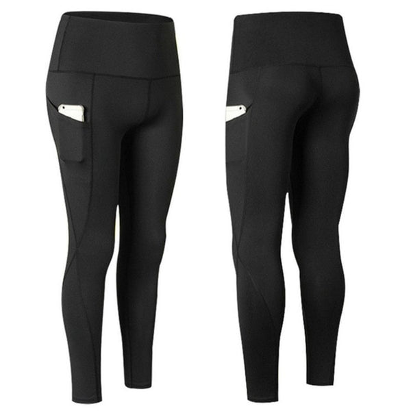Pocket Solid Sport Yoga Pants High Waist Mesh Sport Leggings Fitness Women Yoga Leggings Training Running Pants Sportswear