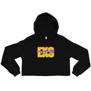 Open image in slideshow, EXS Drip Crop Hoodie