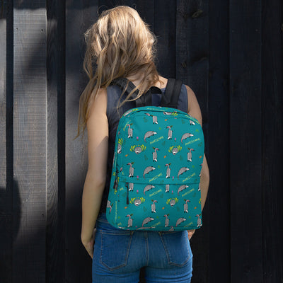 Awesome Possum Teal Backpack - AwesomePossumz