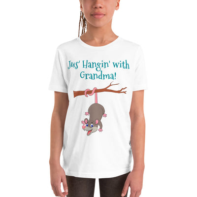 Hangin with Grandma Youth T-Shirt - AwesomePossumz