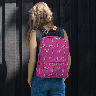 Awesome Possum Pink Backpack - AwesomePossumz