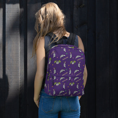 Awesome Possum Purple Backpack - AwesomePossumz