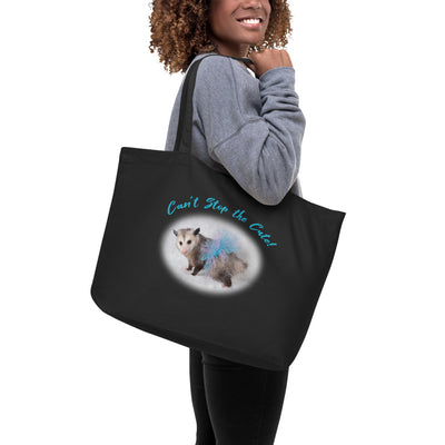 Can't Stop the Cute Organic Tote Bag - AwesomePossumz