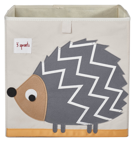 UBXHDG Grey Hedgehog Storage Box