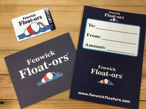 Fenwick Float-ors Gift Card $50.00