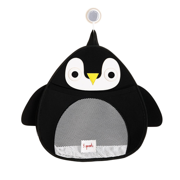 UTBPEN Bath Storage Penguin Black
