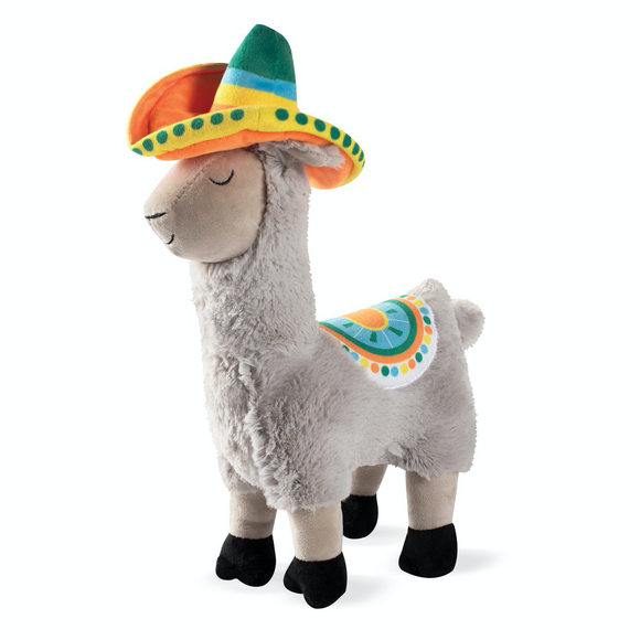 Llama Party Time Dog Toy