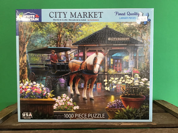 City Market 1000 Piece Puzzle