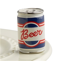 A199 beer me! (BEER CAN) MINIS by Nora Fleming
