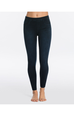 SPANX Jean-ish Ankle Leggings Twilight Rinse