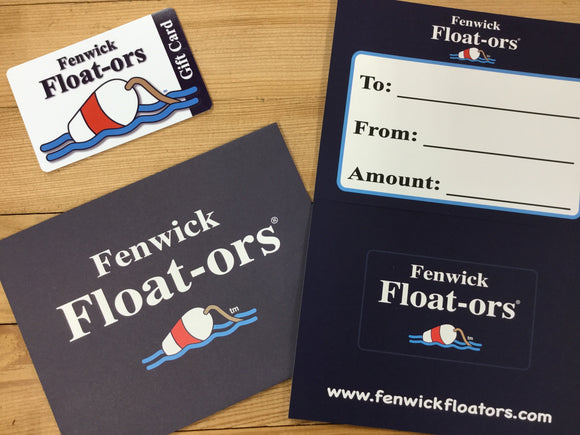 Fenwick Float-ors Gift Card $250.00