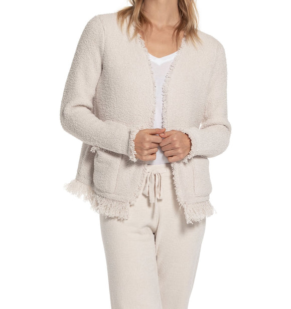 Cozychic Fringed Jacket