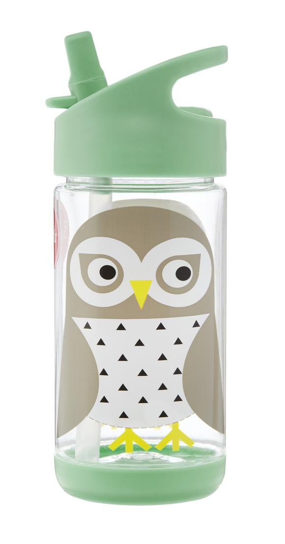 UWBSNO WATER BOTTLE SNOWY OWL