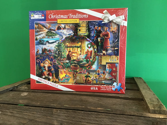 Christmas Traditions 1000 Piece Puzzle