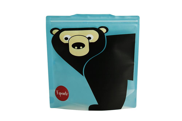 702 BEAR SANDWICH BAG