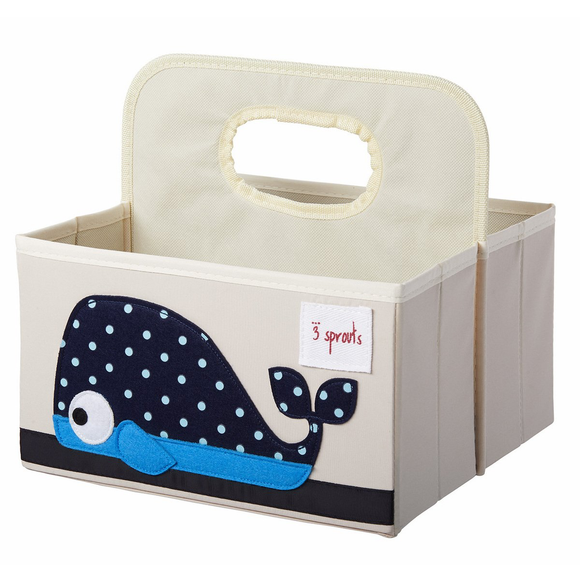 UDOWHL Whale Diaper Caddy