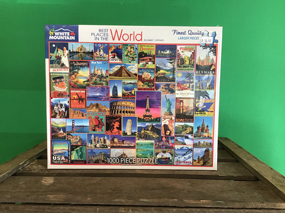 Best Places in the World 1000 Piece Puzzle