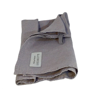 Linen kitchen towels grey