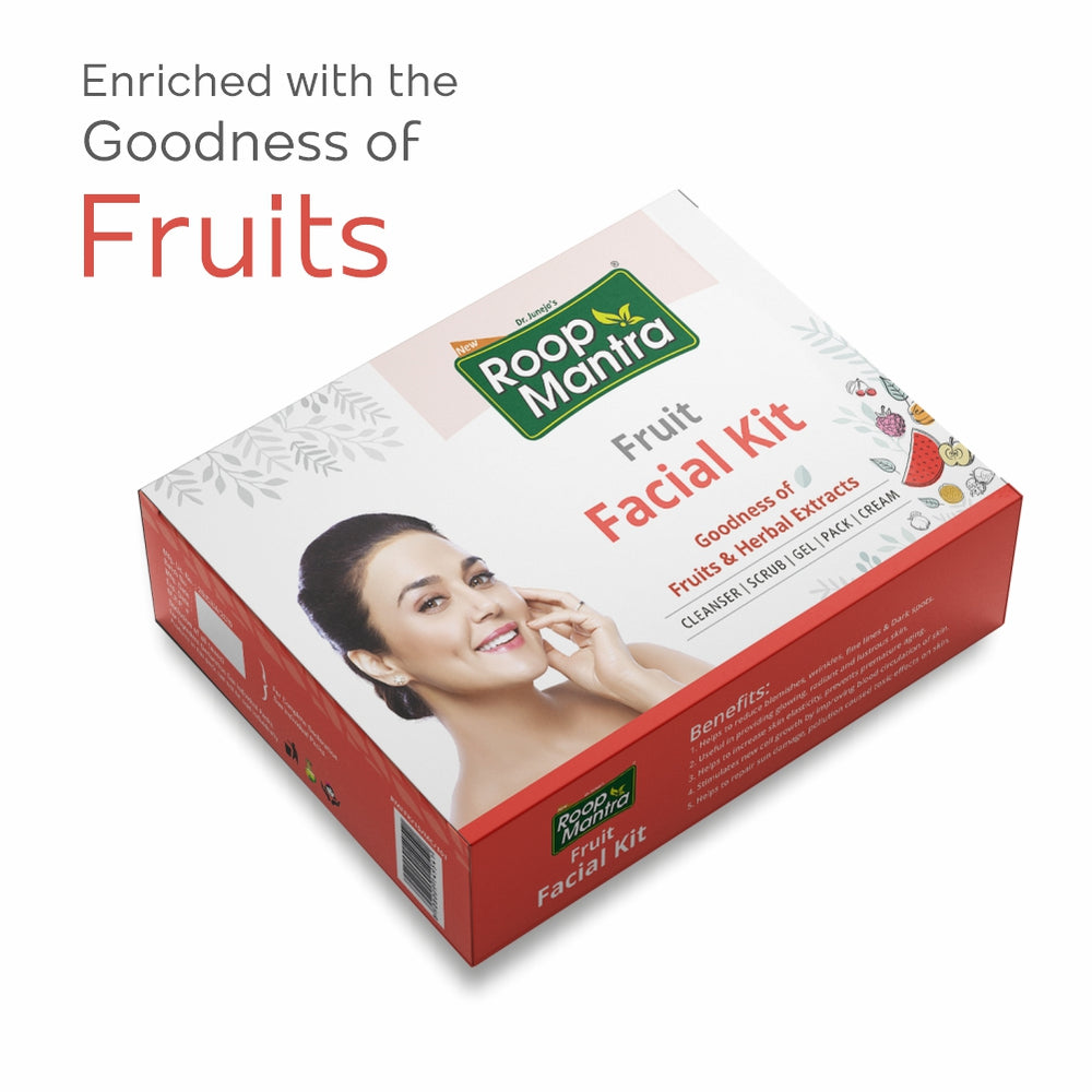 Roop Mantra Fruit Facial Kit - 75g