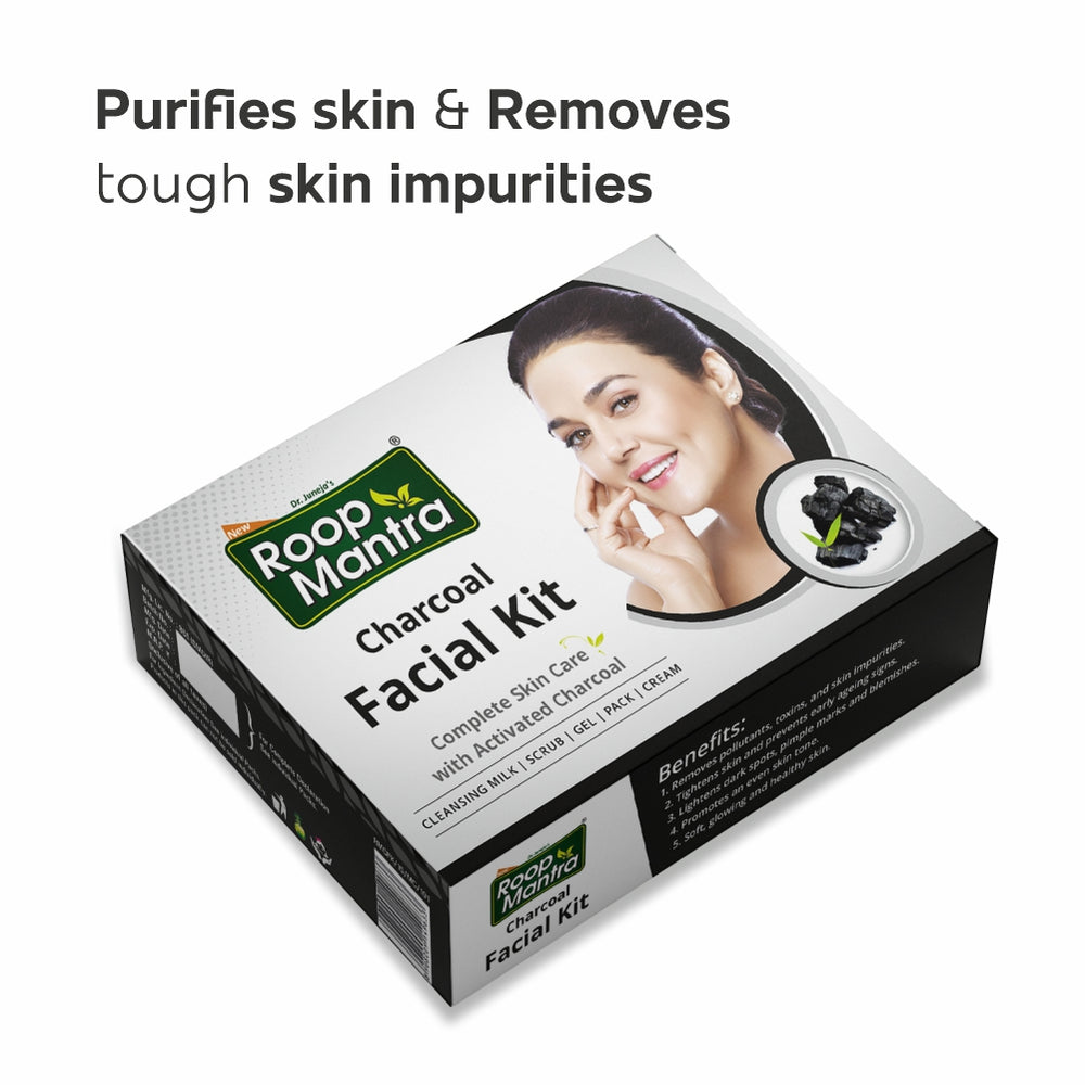 Roop Mantra Charcoal Facial Kit