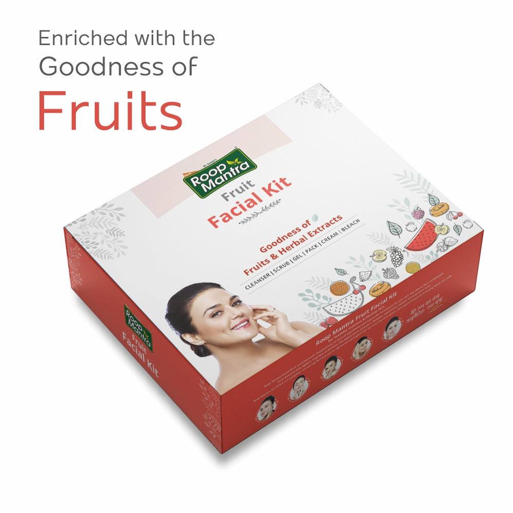 Roop Mantra Fruit Facial Kit - 240g