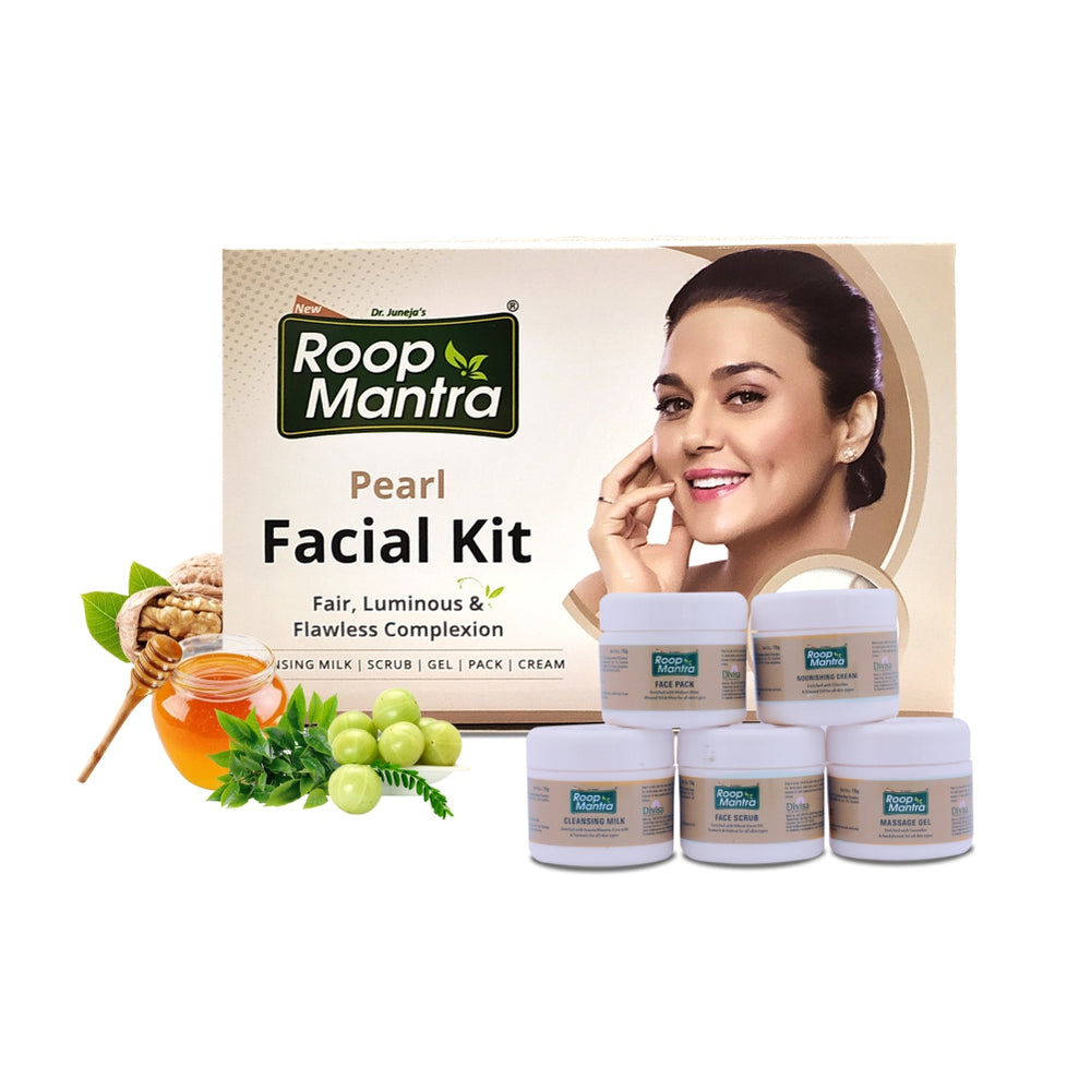 Roop Mantra Pearl Facial Kit