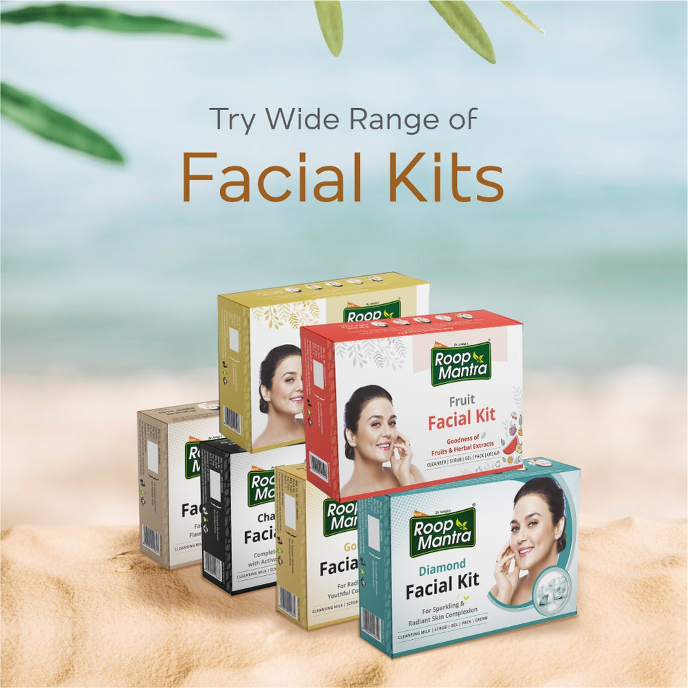 Roop Mantra Herbal Facial Kit - 240g