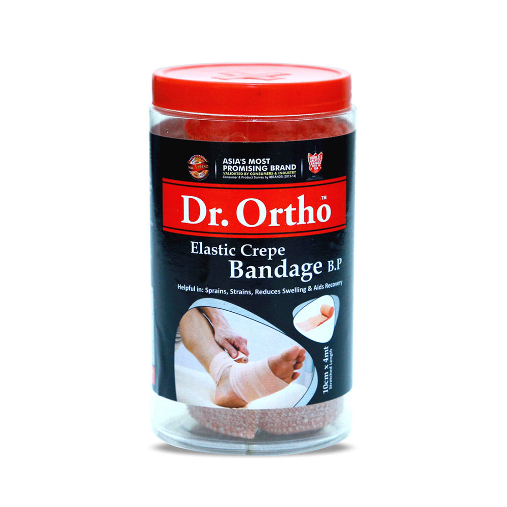Dr Ortho Pain Reliever Crepe Bandages 10x4