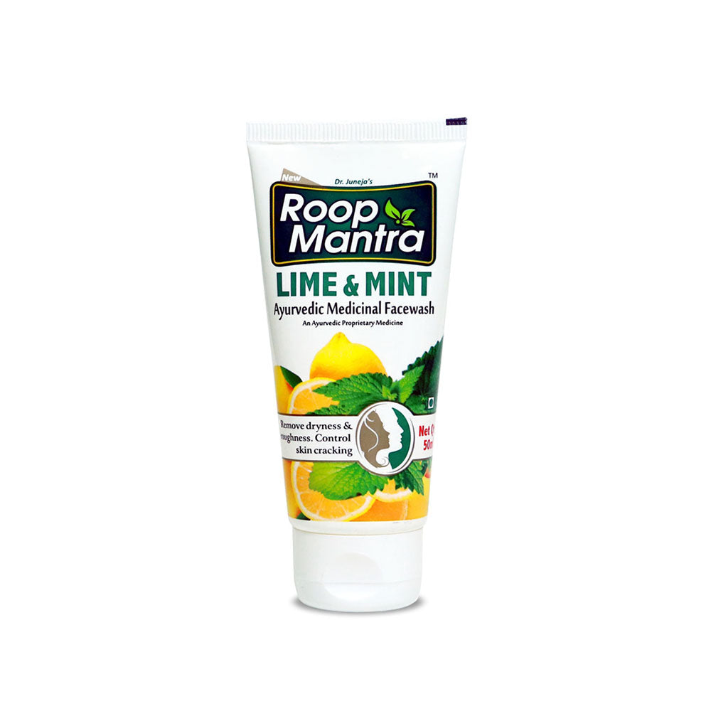 Roop Mantra Lime & Mint Face Wash 50ml