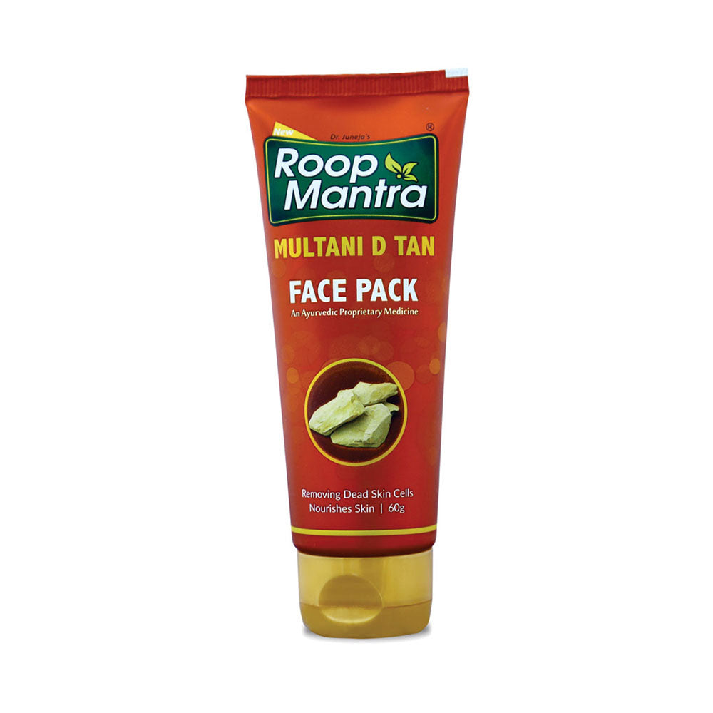 Roop Mantra Multani D Tan Face Pack 60g