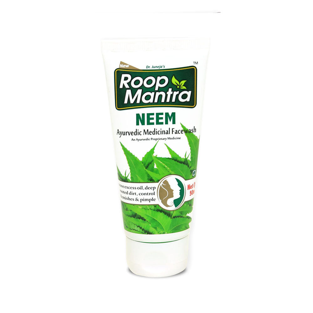 Roop Mantra Neem Face Wash 50ml