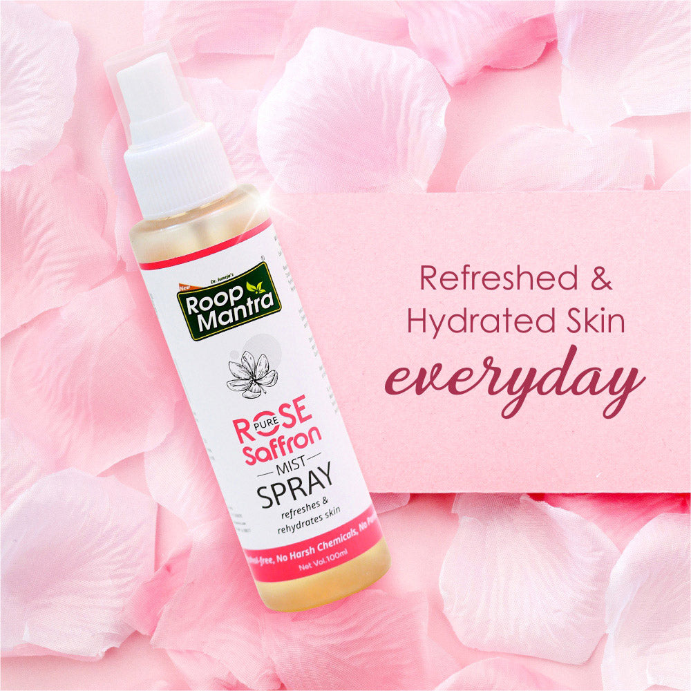 Roop Mantra Rose Saffron Mist Spray