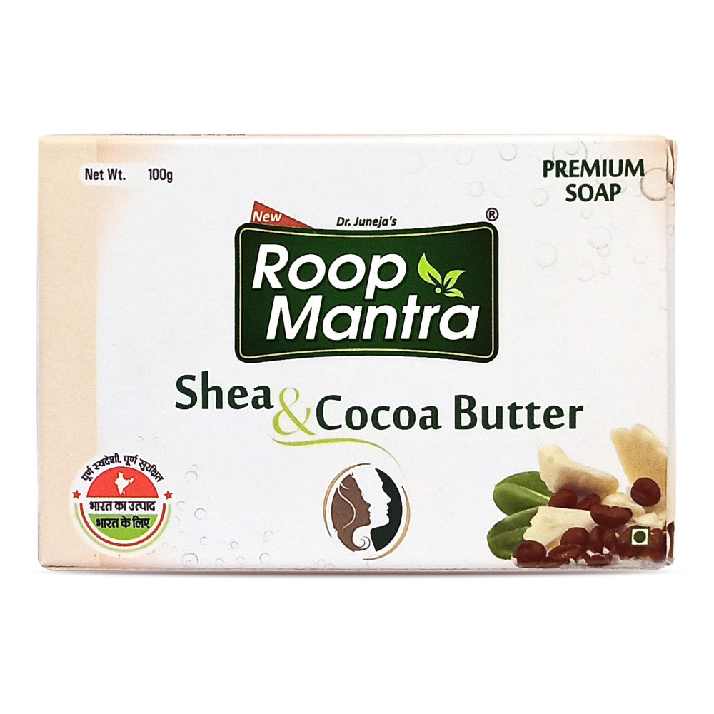 Roop Mantra Shea & Cocoa Butter Soap