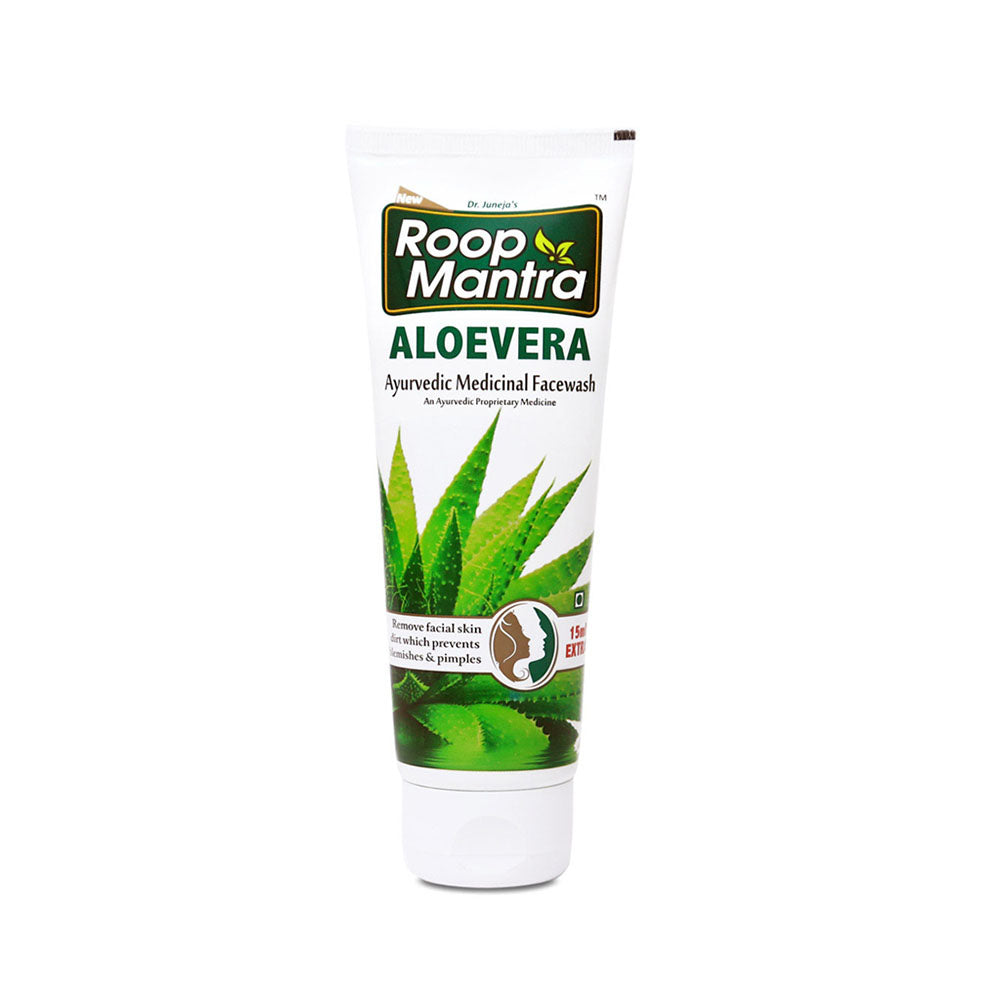 Roop Mantra Aloe Vera Face Wash 115ml