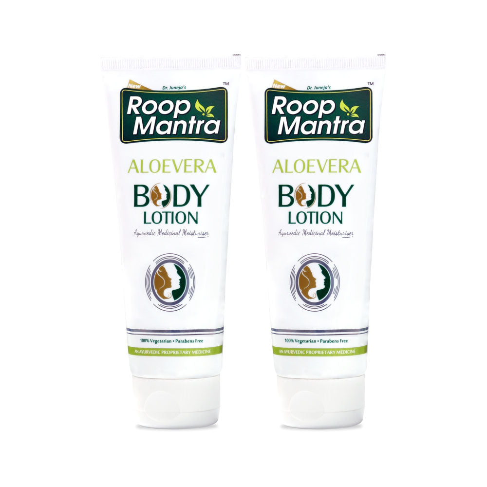 Roop Mantra Aloe Vera Body Lotion 115ml Pack of 2