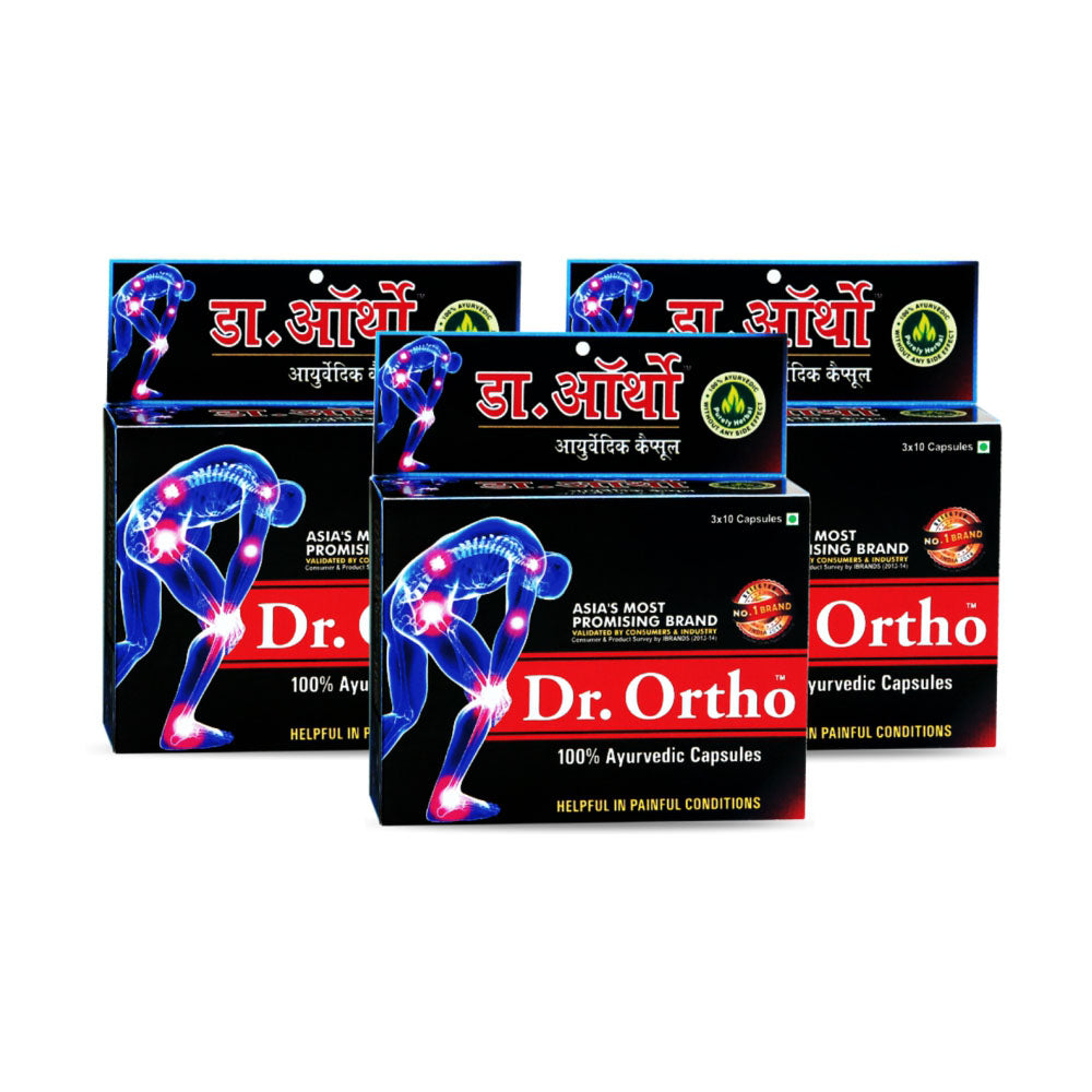 Dr Ortho Pain Reliever Capsules 30cap x3