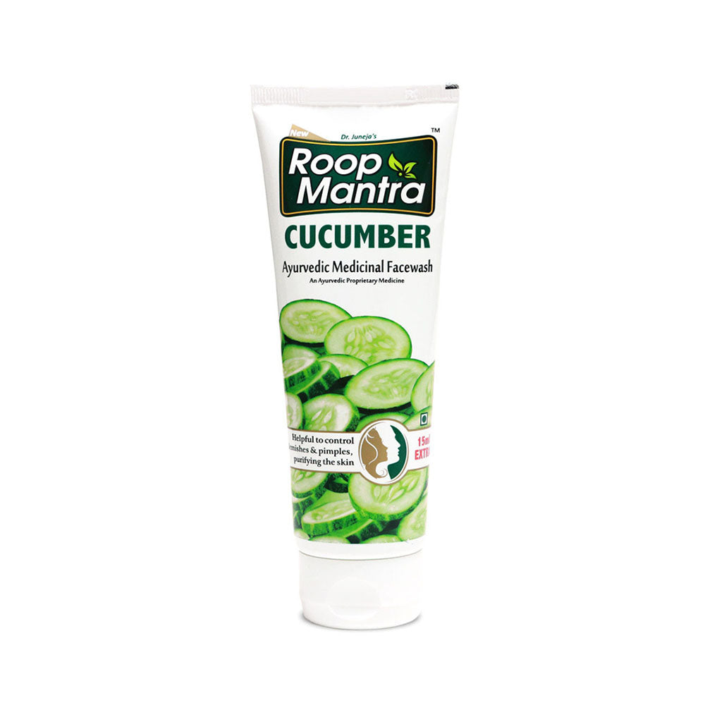 Roop Mantra Cucumber Face Wash 115ml