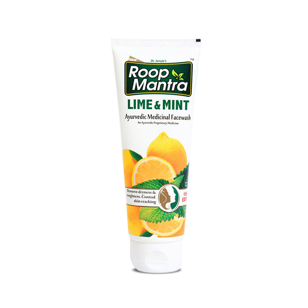 Roop Mantra Lime & Mint Face Wash 115ml