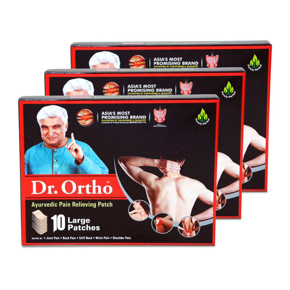 Dr Ortho Pain Reliever Patches 10 Pack of 3