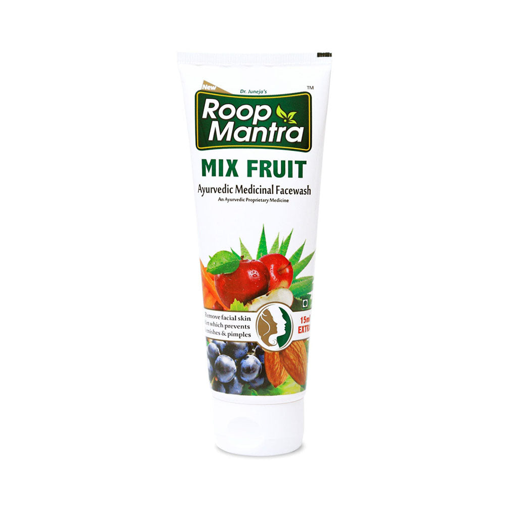 Roop Mantra Mix Fruit Face Wash 115ml