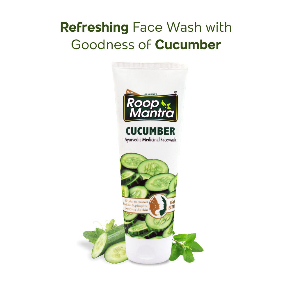 Roop Mantra Ayurvedic Cucumber Face Wash