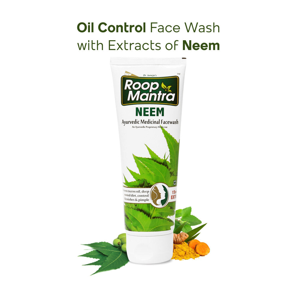 Roop Mantra Ayurvedic Neem Face Wash - 50ml