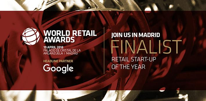 World Retail Award Start up of the Year Finalist 2018