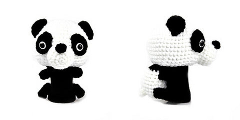 Panda Golf Driver Head Cover