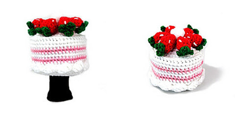 Cake Golf Driver Head Cover