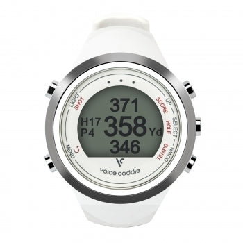 Voice Caddie GPS Watch T1 Black/White